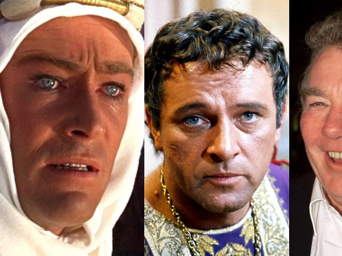 Peter O'Toole, Richard Burton, Albert Finney