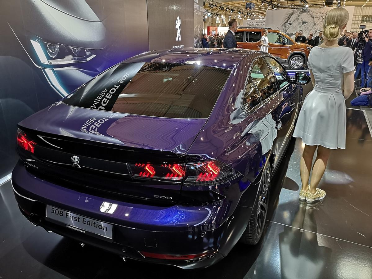 Peugeot 508 na Poznań Motor Show 2018