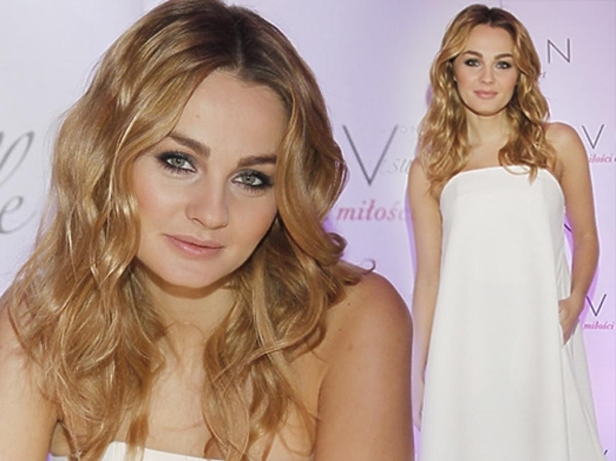 Piękna Małgorzata Socha promuje swoje perfumy