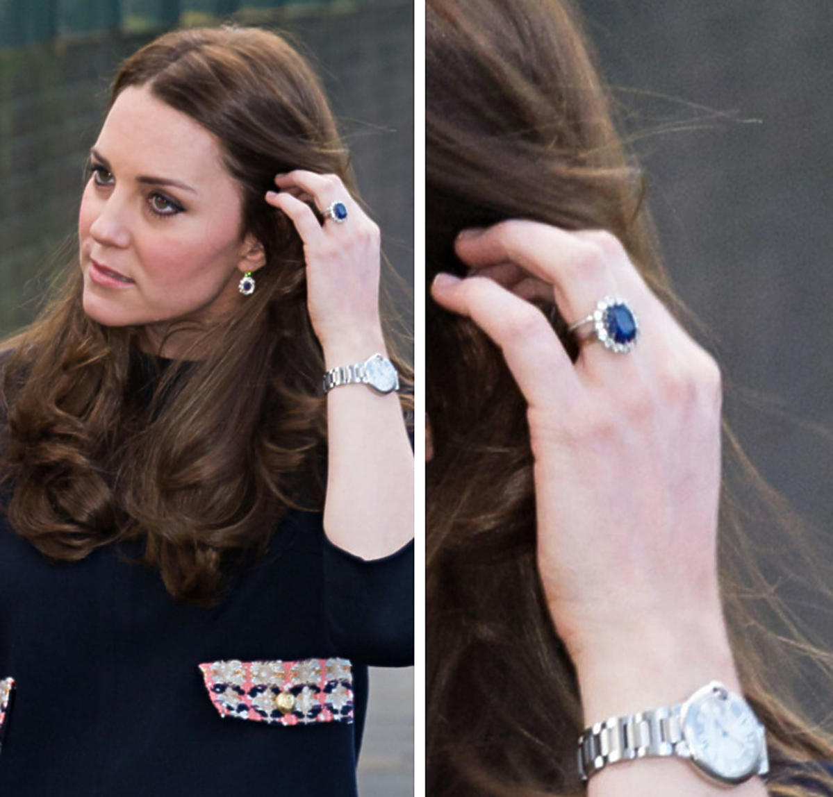 Pierścionek zaręczynowy księżnej Kate