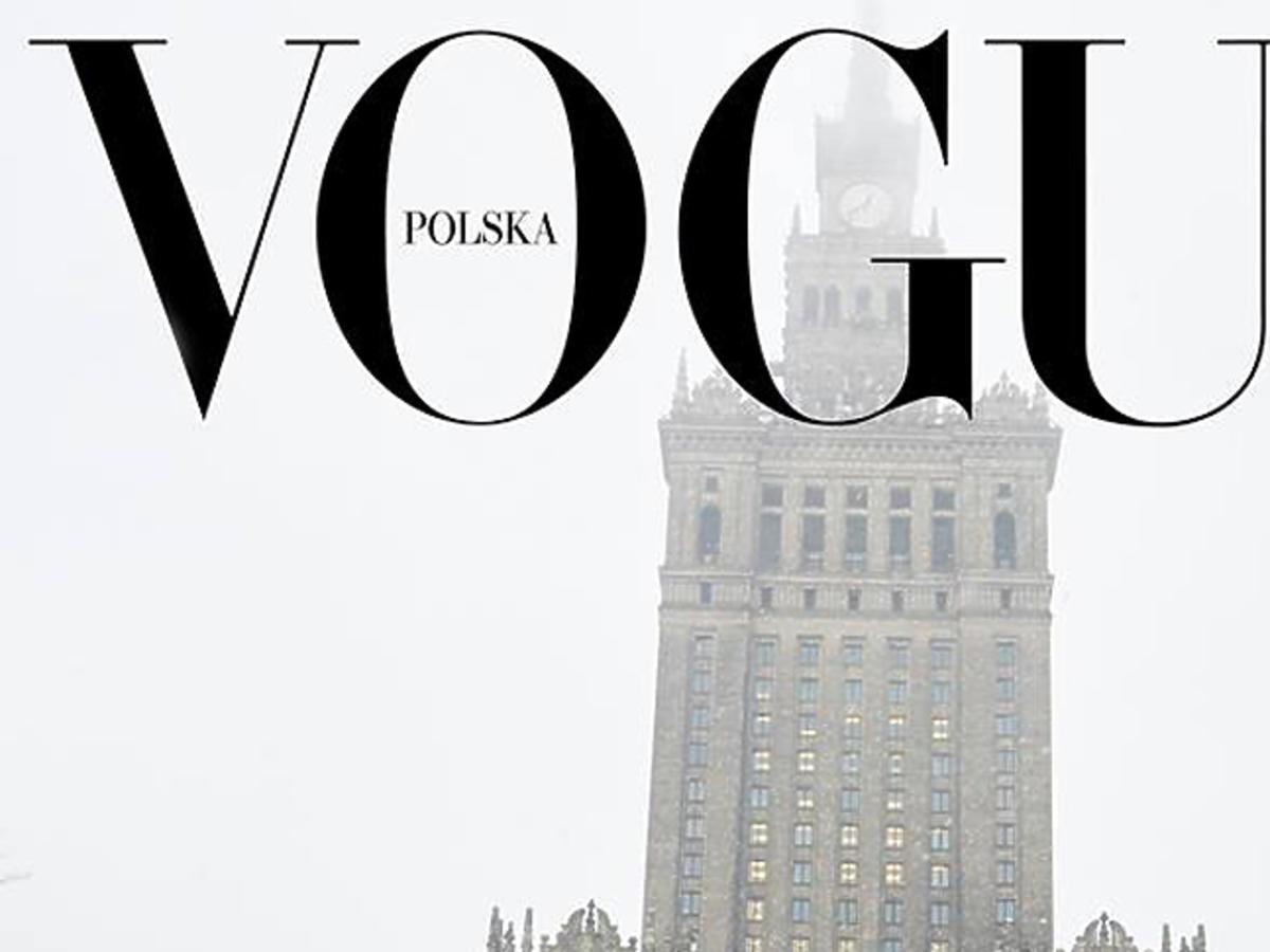 Pierwsza polska okładka Vogue Polska