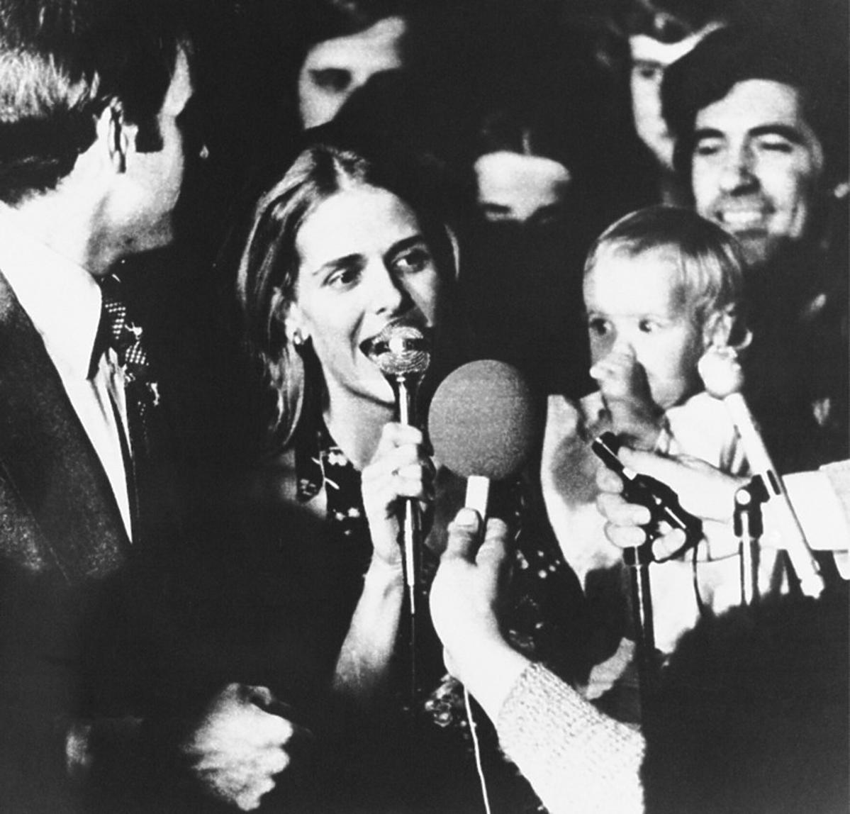 Pierwsza żona Joe Bidena i córeczka