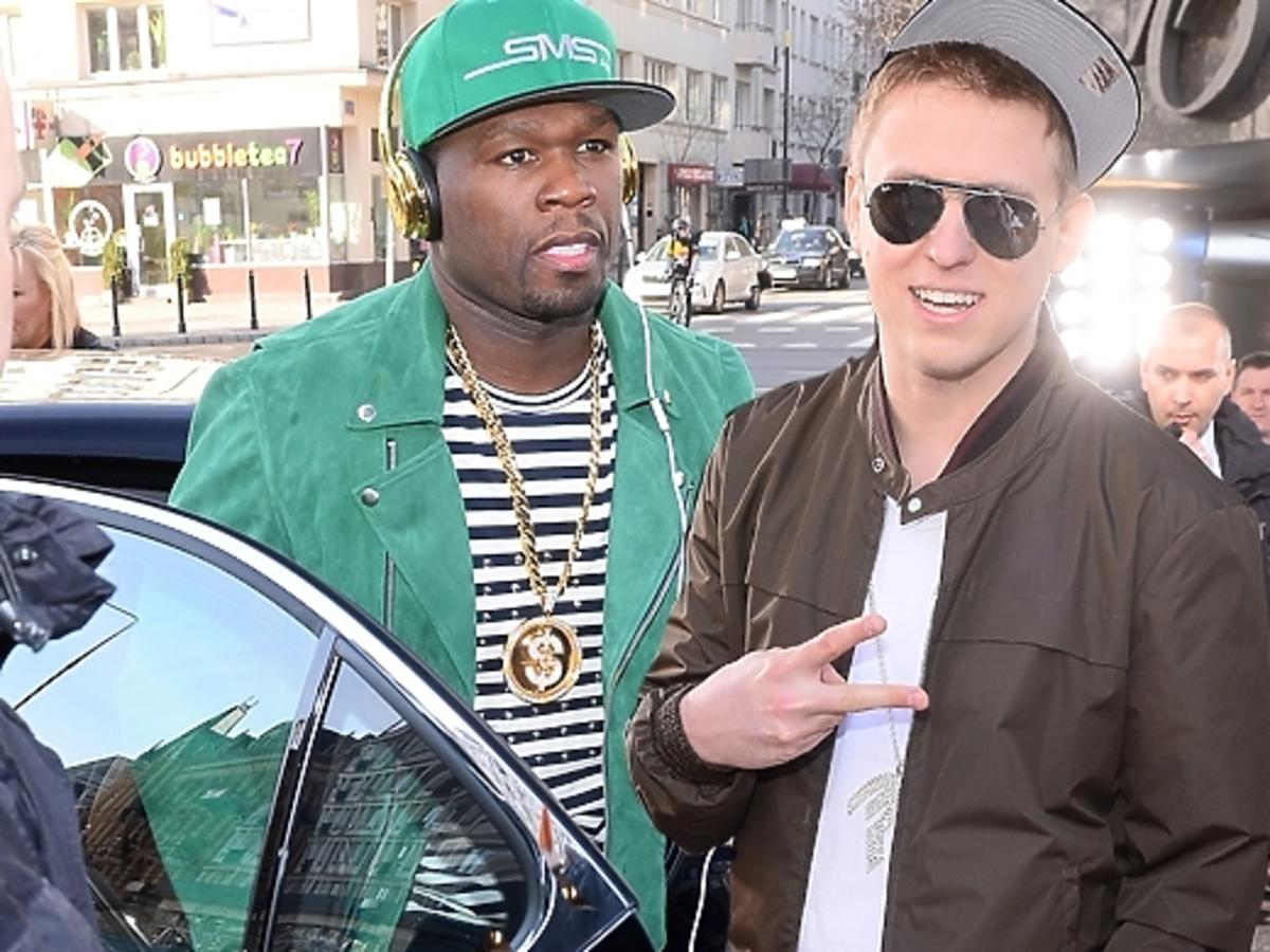Pikej na spotkaniu z 50 Centem w DDTVN