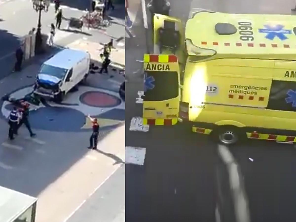 PILNE: Zamach terrorystyczny w Barcelonie! Rozpędzony van wjechał w grupę turystów! Czy wśród ofiar są Polacy?