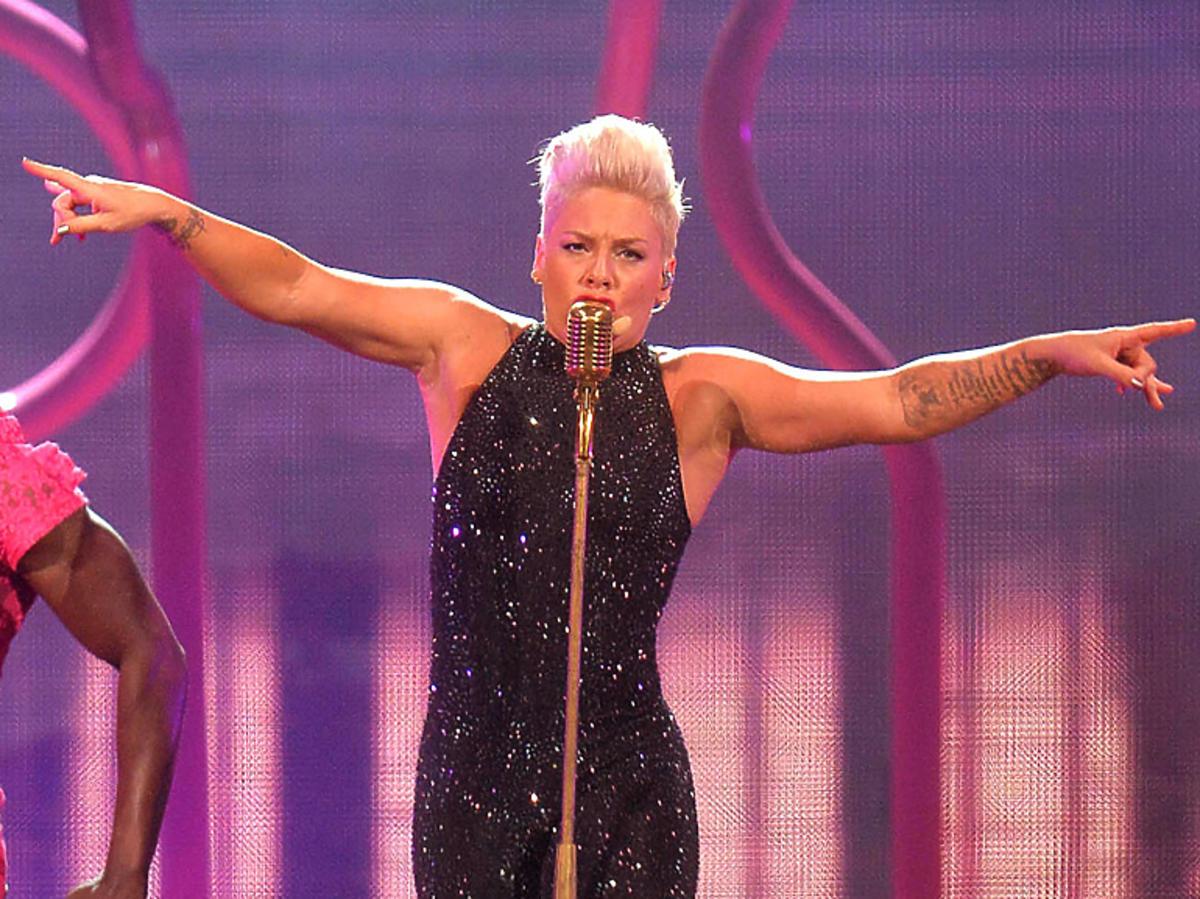 Pink podczas występu