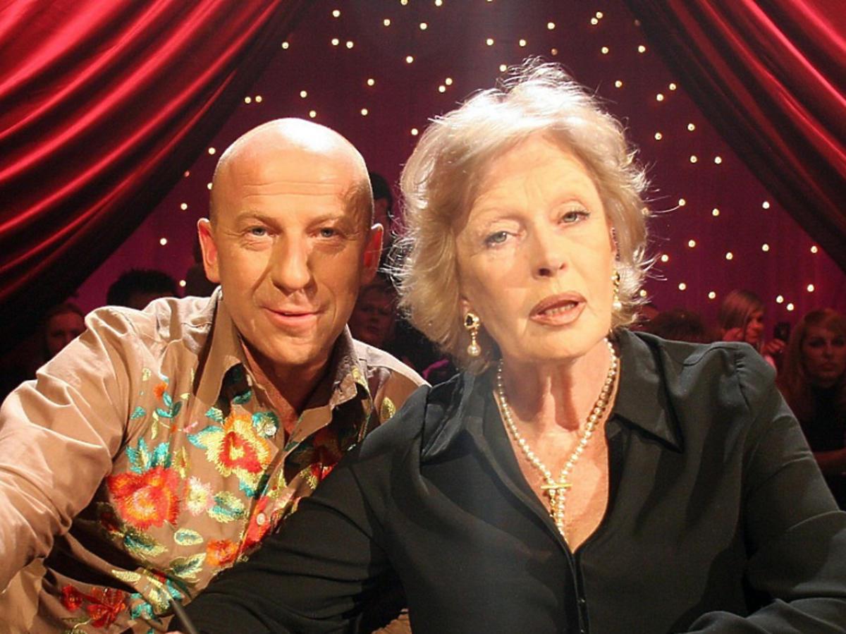 Piotr Galiński i Beata Tyszkiewicz jako jurorzy w programie