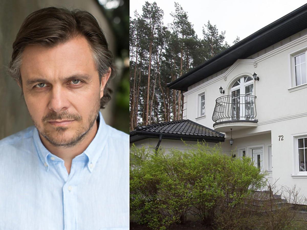 Piotr Gawryło jak wygląda jego dom w Na dobre i na złe