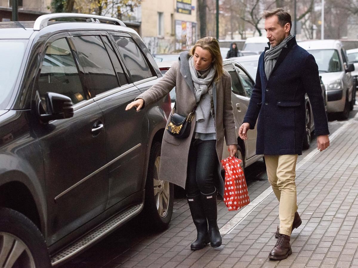Piotr Kraśko z żoną