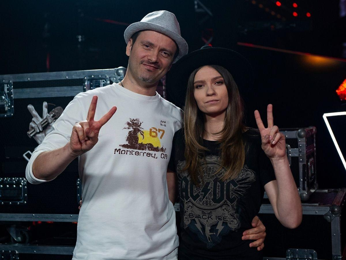 Piotr Lato z partnerką w The Voice of Poland