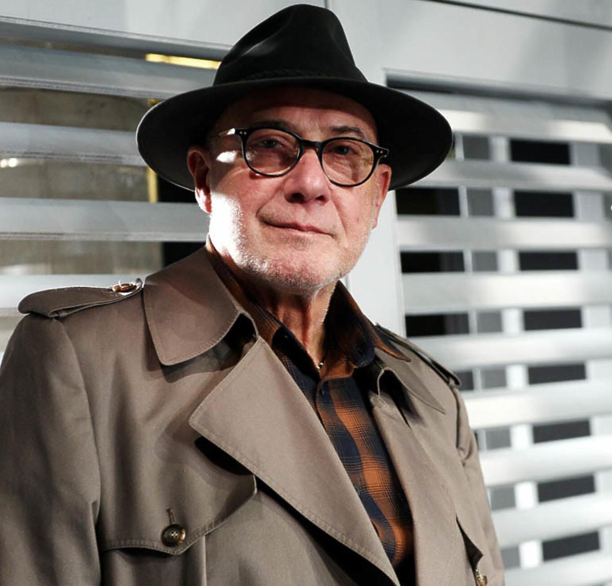 Piotr Machalica w kapeluszu