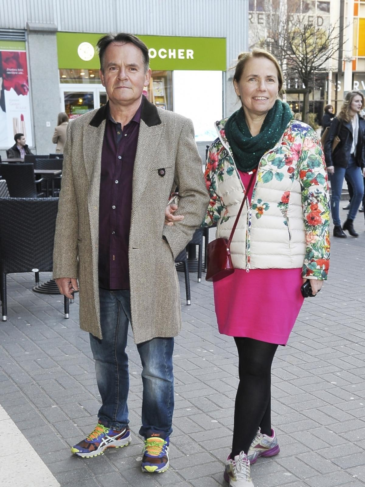 Piotr Pręgowski i Ewa Kuryło na premierze książki Leonarda Pietraszaka
