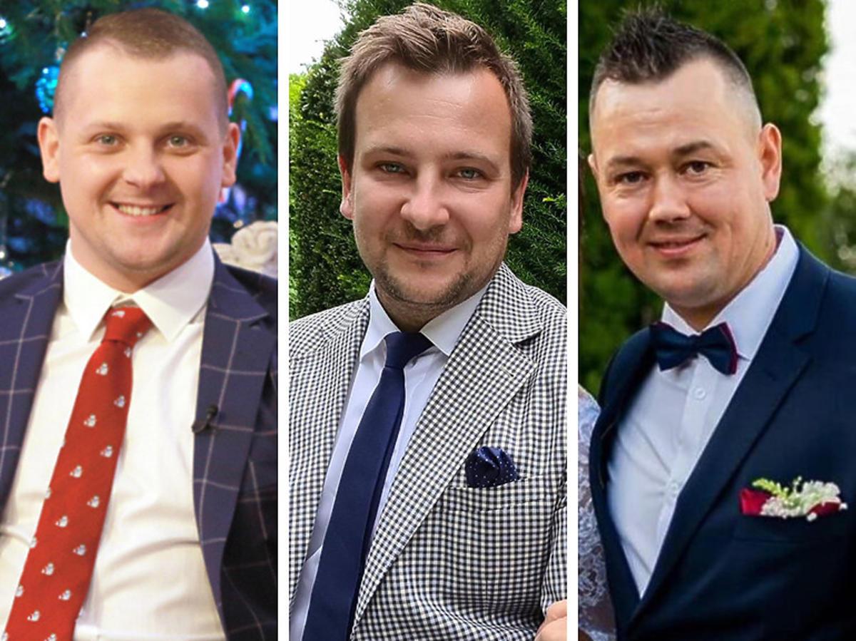 """Piotr, Seweryn i Grzegorz Bardowski z """"Rolnik szuka żony"""" w """"Jaka to melodia"""""""