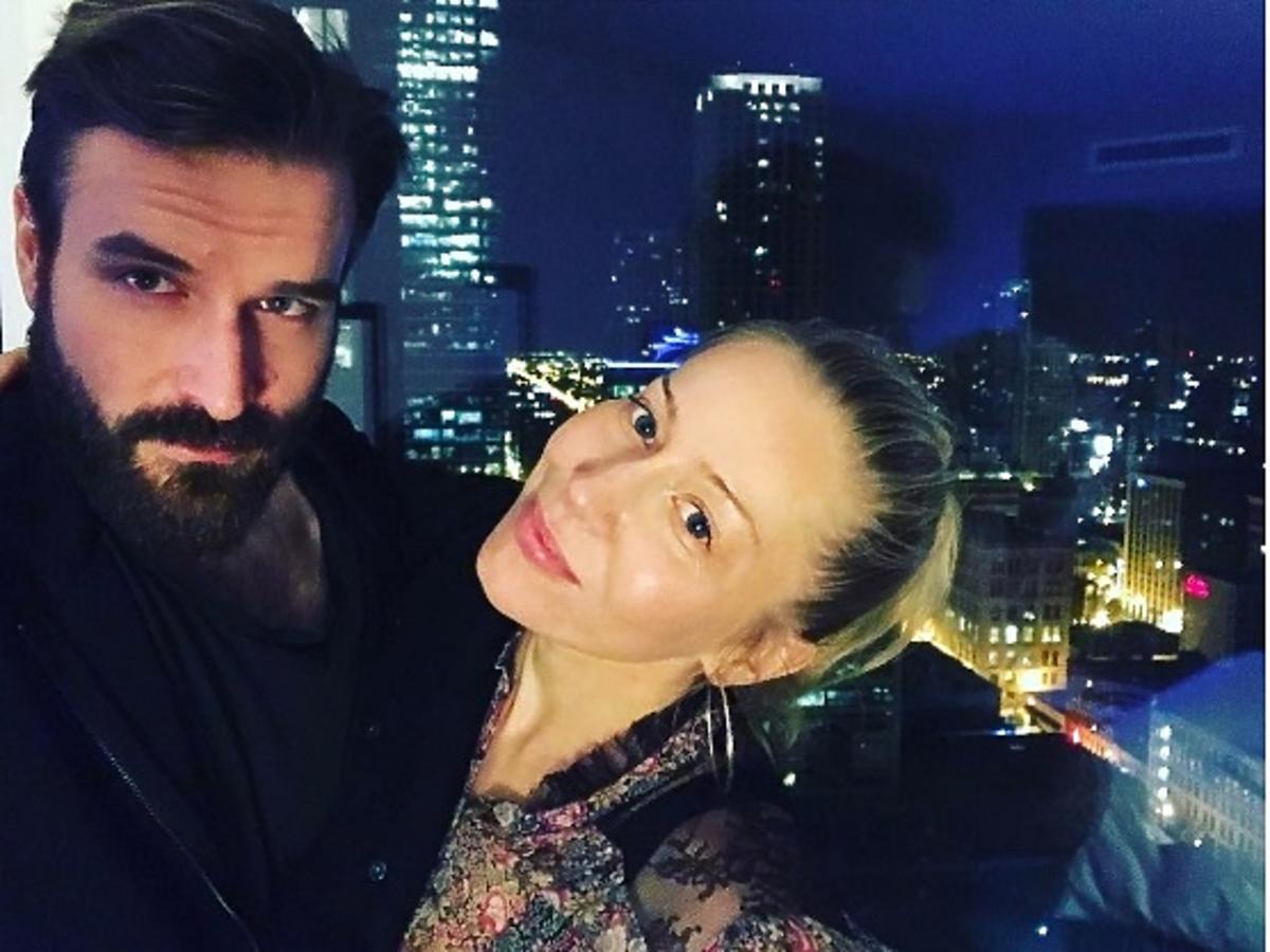 Piotr Stramowski i Katarzyna Warnke świętują Walentynki
