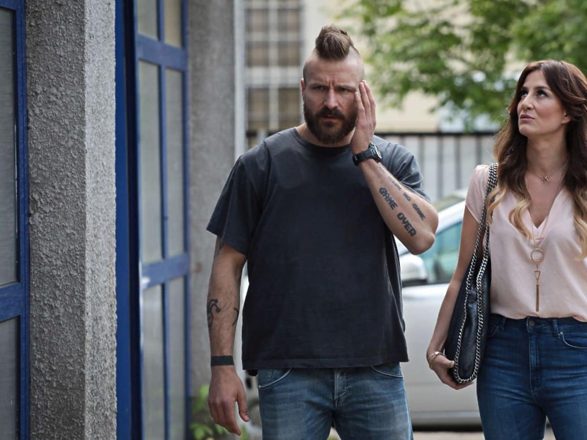 Piotr Stramowski i Maja Ostaszewska w filmie Pitbull. Niebezpieczne kobiety