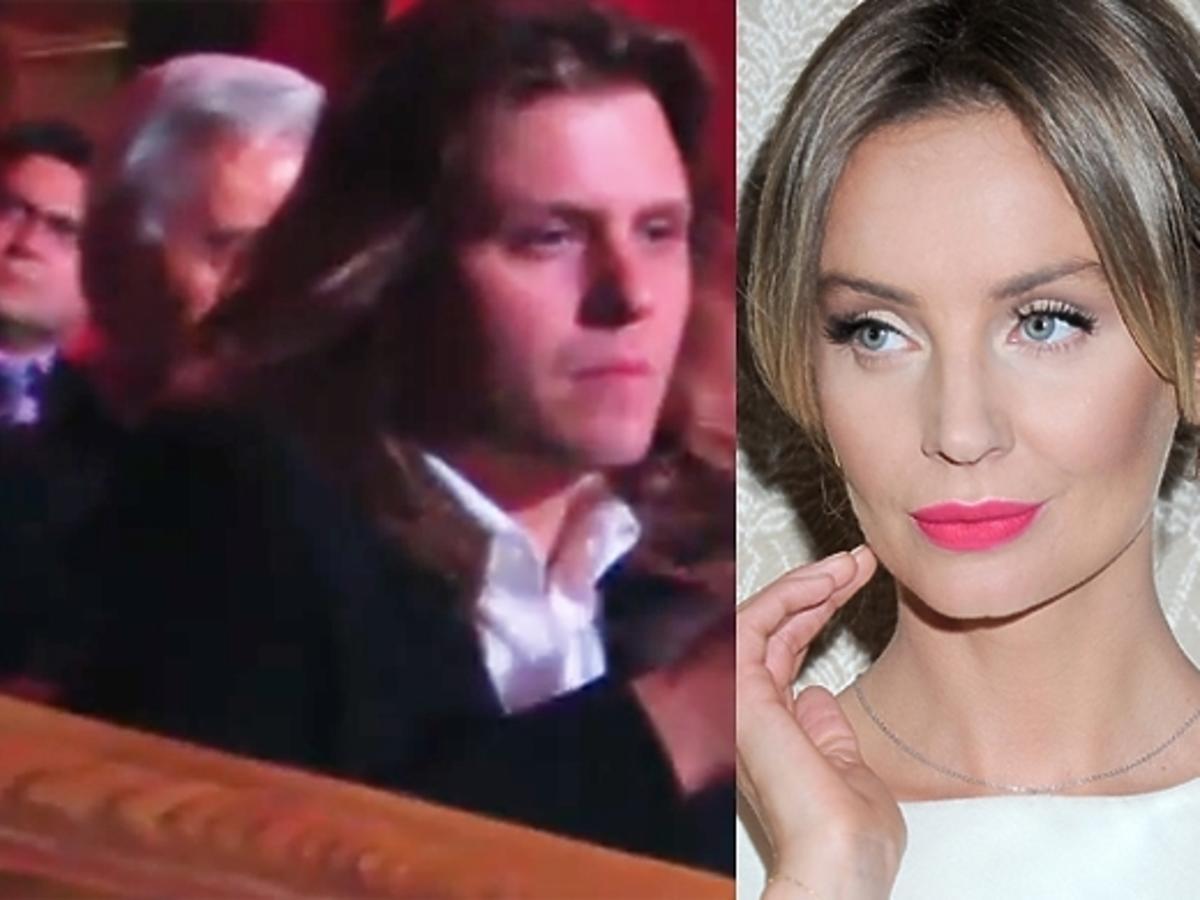 Piotr Woźniak-Starak i Agnieszka Szulim na gali Polacy z Werwą 2014