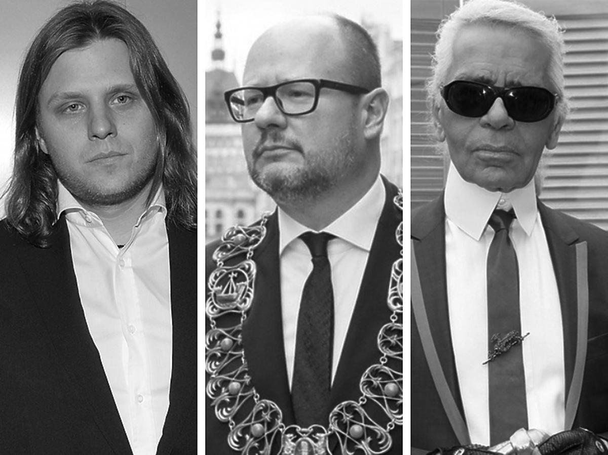 Piotr Woźniak-Starak, Paweł Adamowicz, Karl Lagerfeld