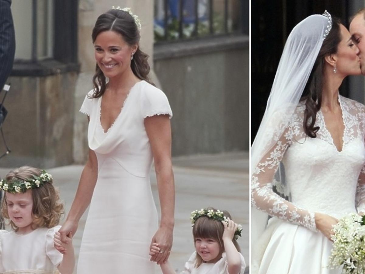 Pippa Middleton, księżna Kate, książę William