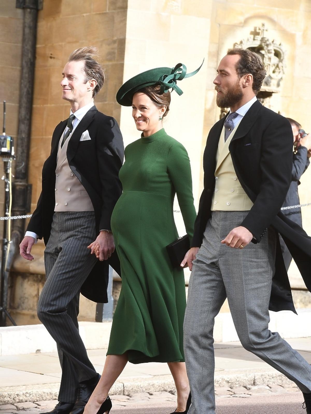 Pippa Middleton na ślubie księżniczki Eugenii