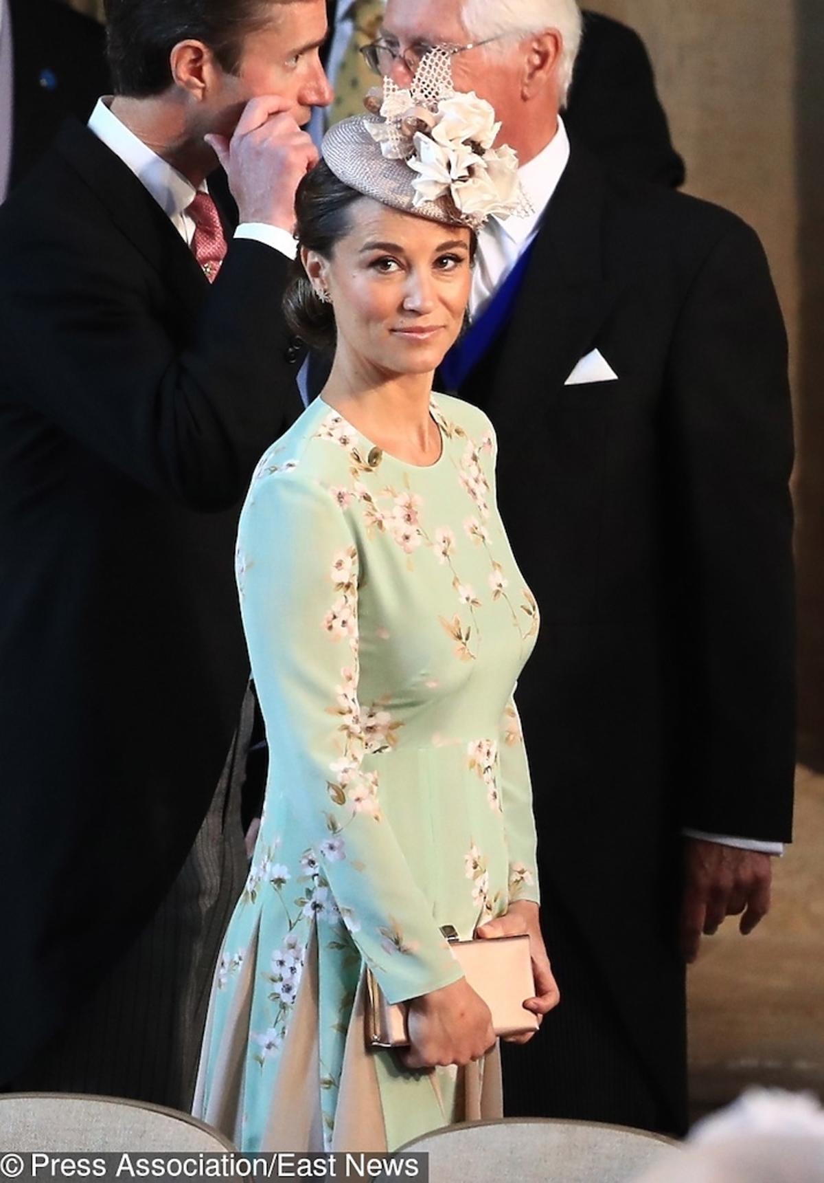 Pippa Middleton w ciąży na ślubie