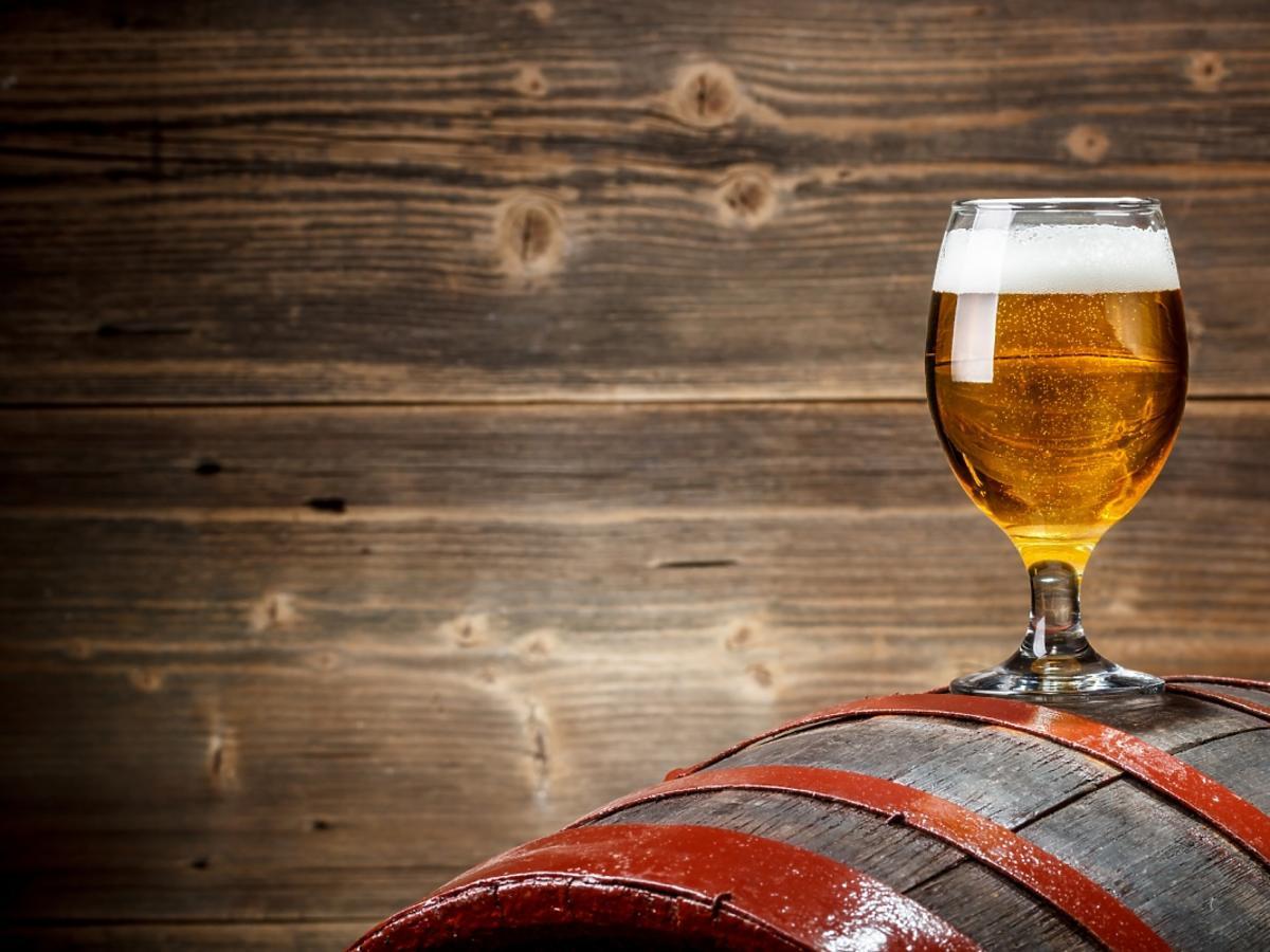 Piwo w kieliszku