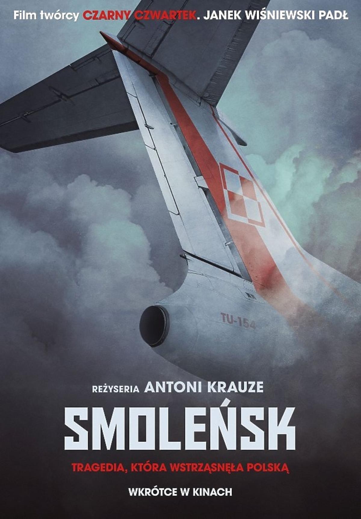 Plakat filmu o katastrofie smoleńskiej