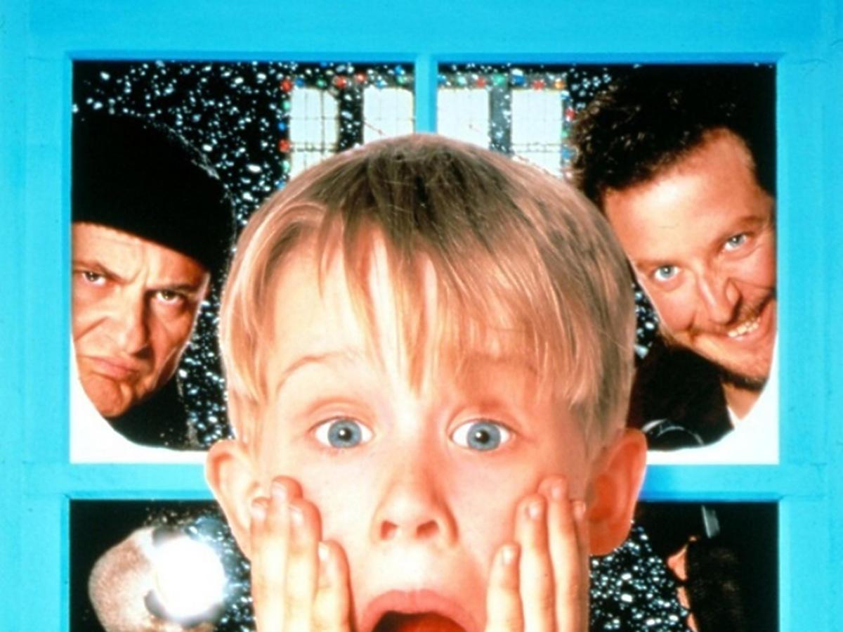 Plakat promujący film Kevin sam w domu
