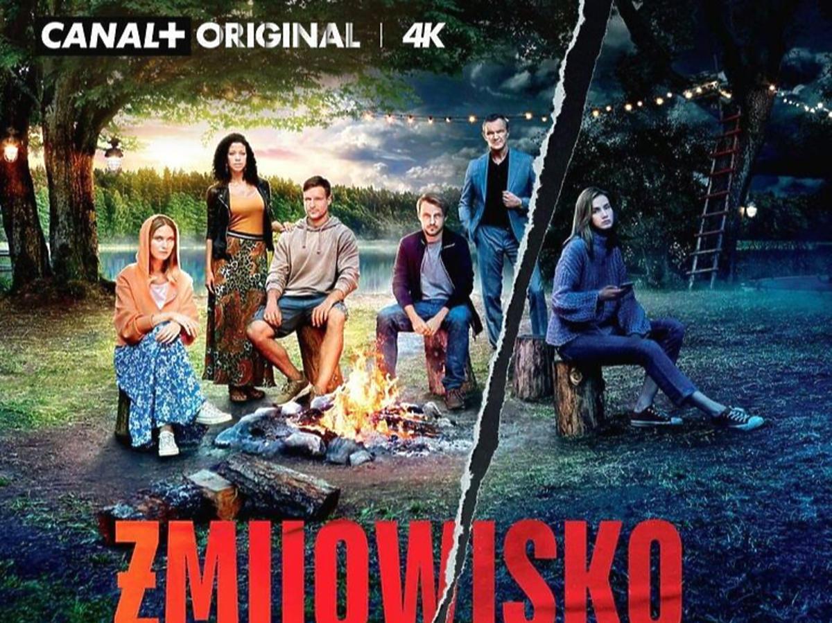 """Plakat promujący serial """"Żmijowisko"""""""