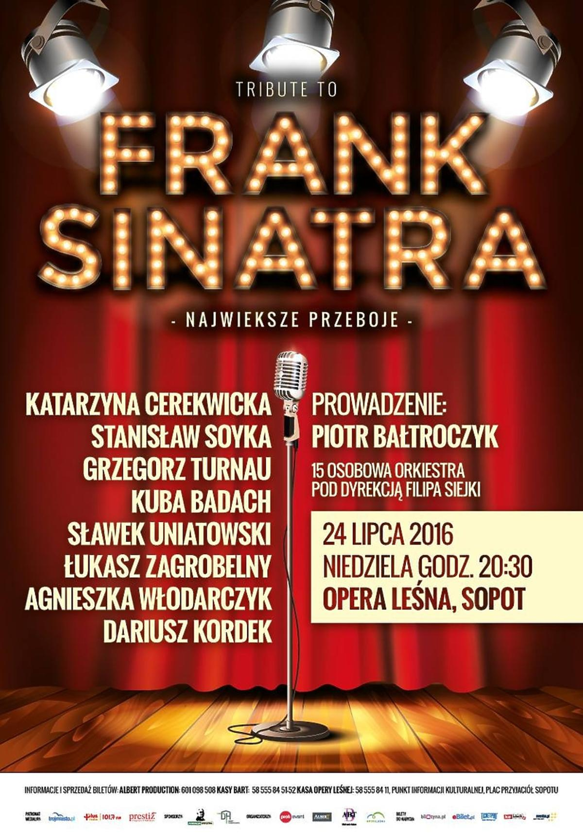 Plakat Tribute to Frank sinatra
