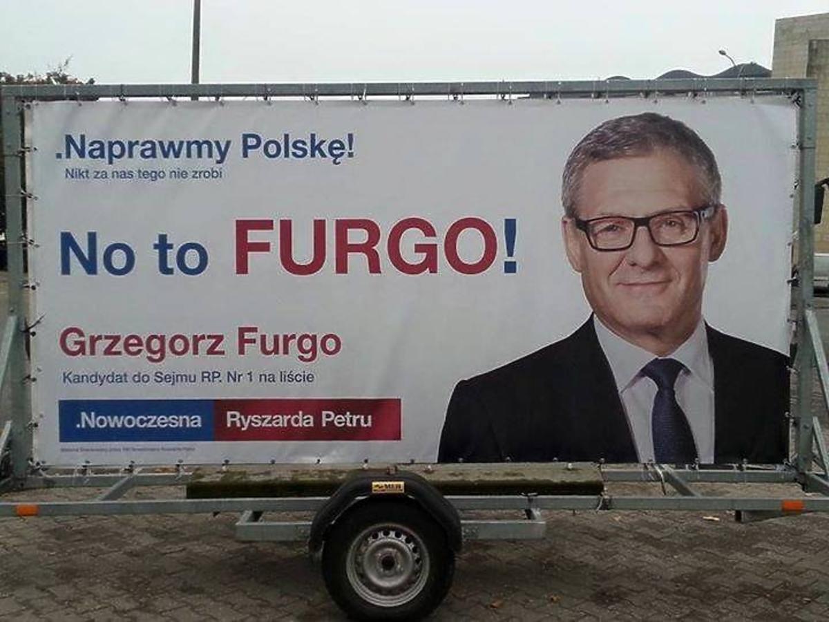 plakat wyborczy
