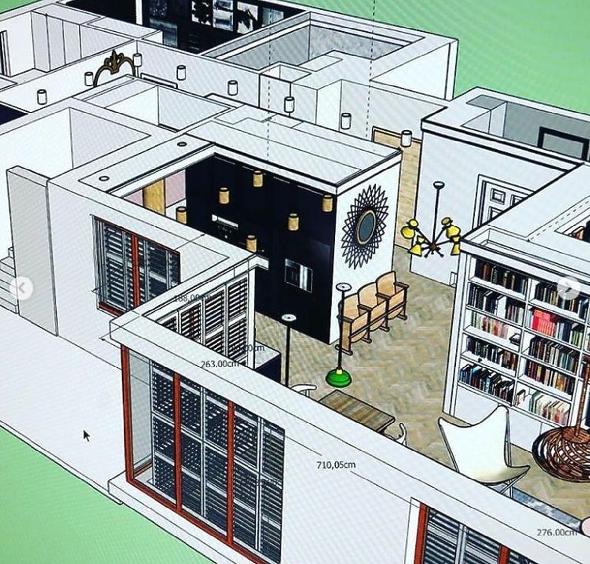 Plan mieszkania Doroty Szelągowskiej