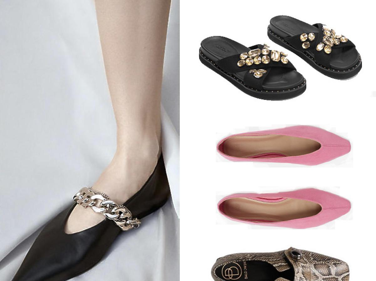 Płaskie buty na wiosnę 2020