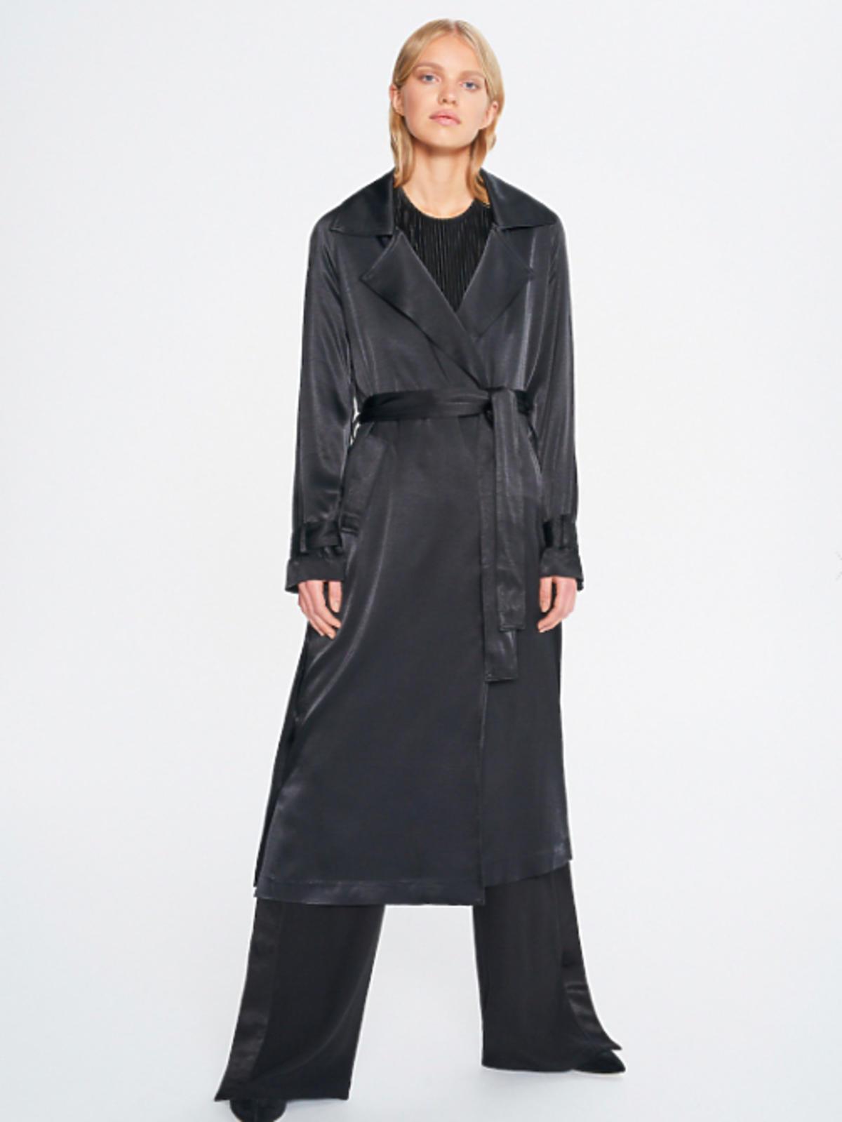 Płaszcz Reserved Płaszcz z wiązaniem w talii ReDesign