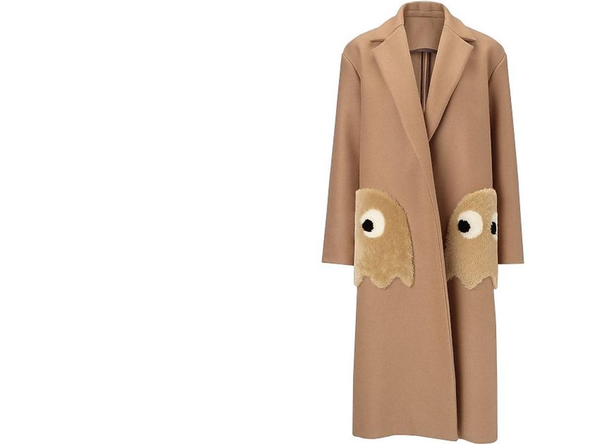 Płaszcz z duchem Anya Hindmarch, ok. 8000 zł