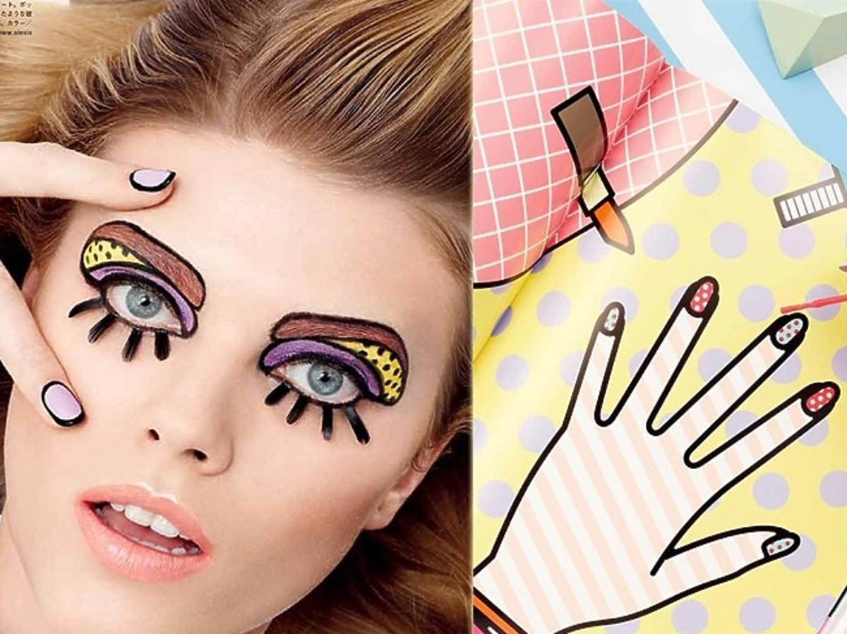 Playing With Color - Vogue Japan