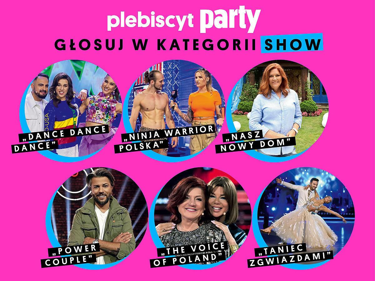 Plebiscyt Party Show Roku