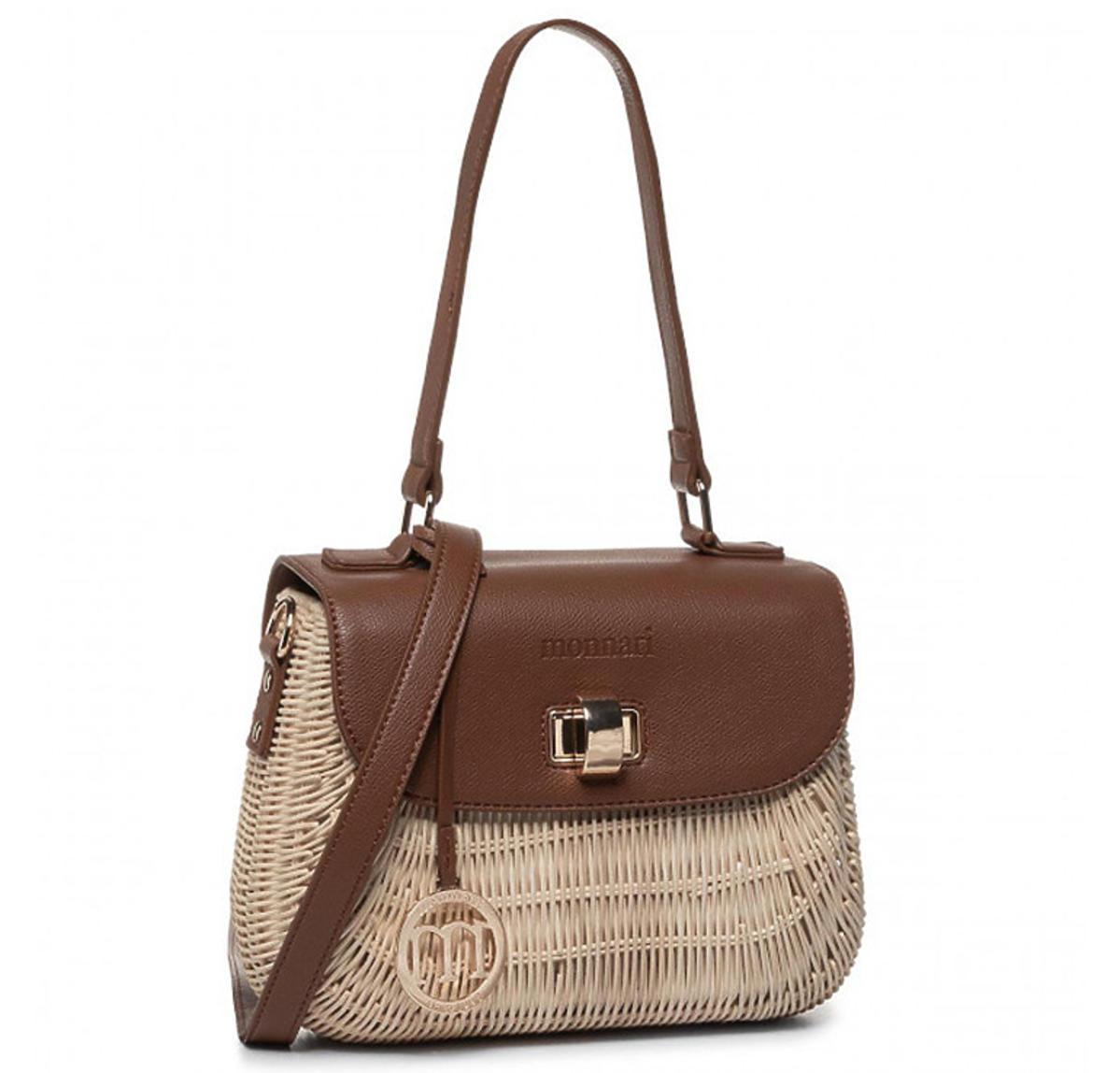 Pleciona torebki Monnari - trendy na jesień 2020