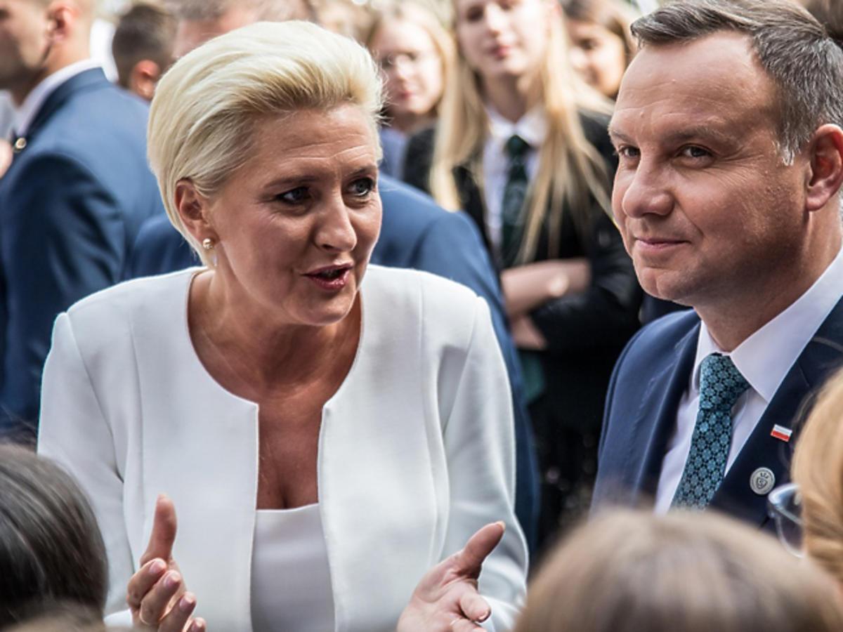 Plotki o kryzysie Agaty Dudy i Andrzeja Dudy