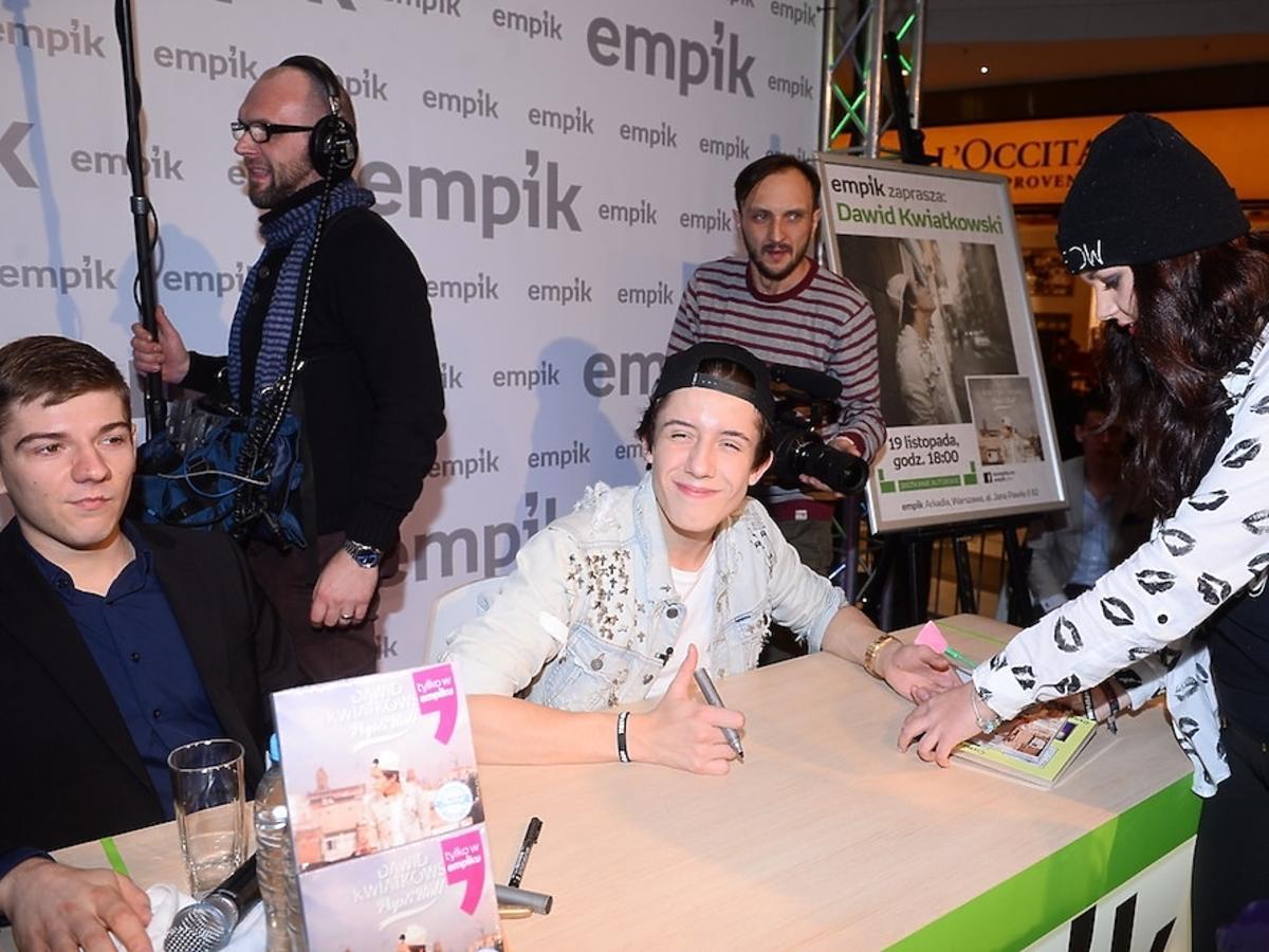 Płyta Dawida Kwiatkowskiego Pop&Roll. Dawid Kwiatkowski w Empik Arkadia 19 listopada 2014