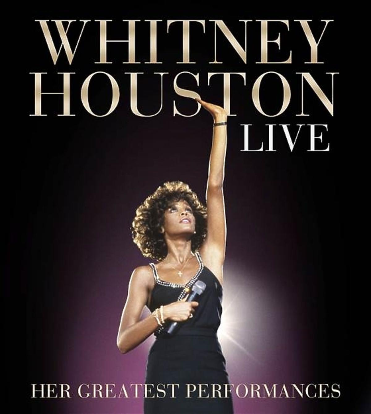 Płyta Whitney Houston Live: Her Greatest Performances okładka