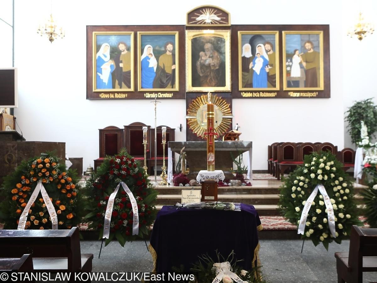 Pogrzeb Agnieszki Kotulanki
