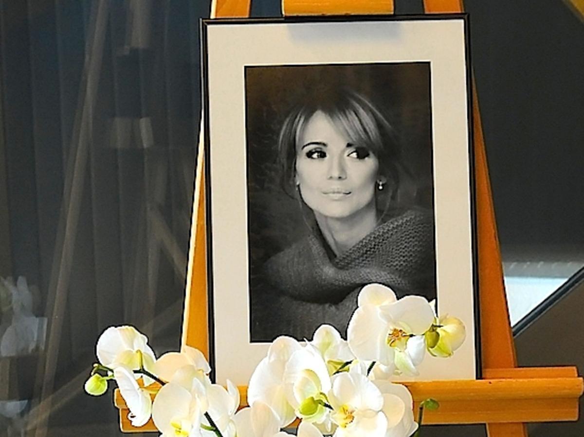 Pogrzeb Ani Przybylskiej. Zdjęcia z pogrzebu Anny Przybylskiej