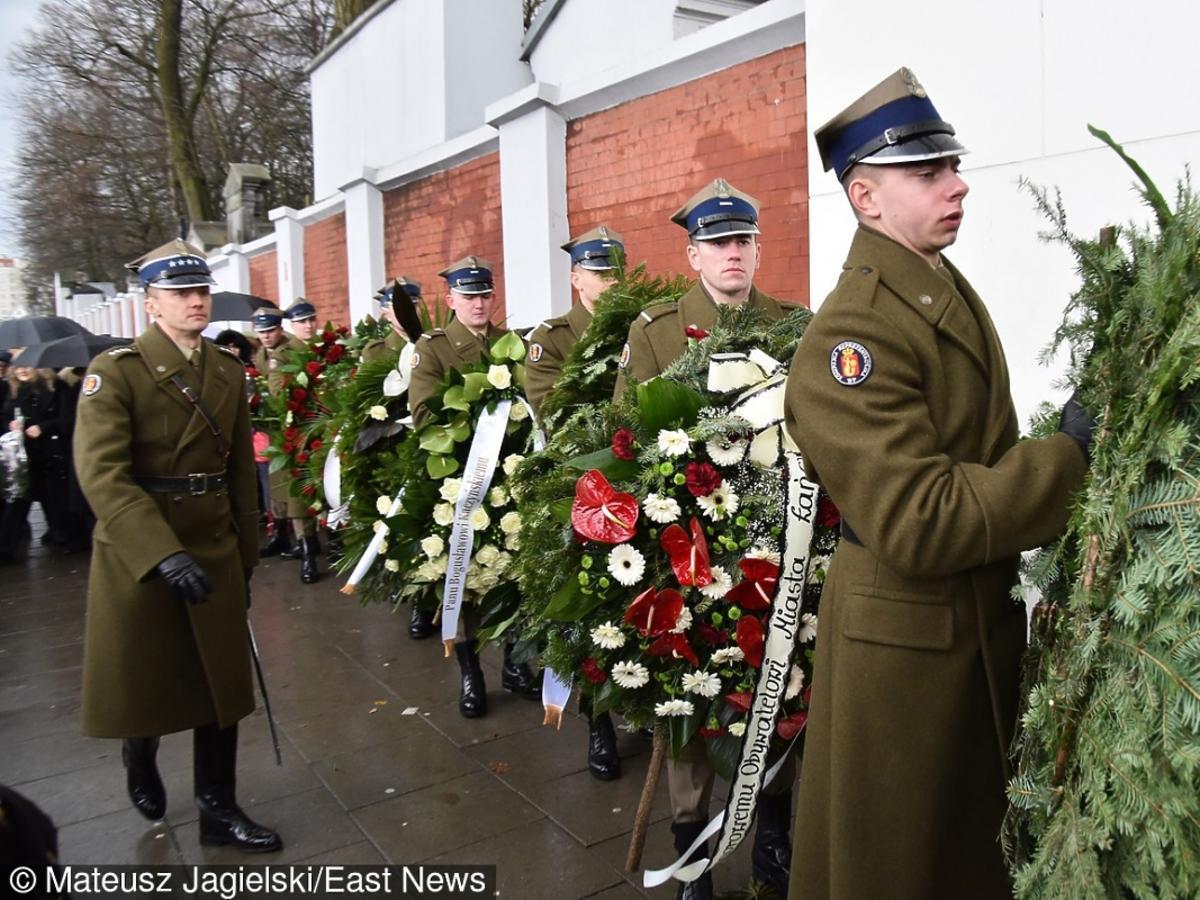 Pogrzeb Bogusława Kaczyńskiego w Warszawie