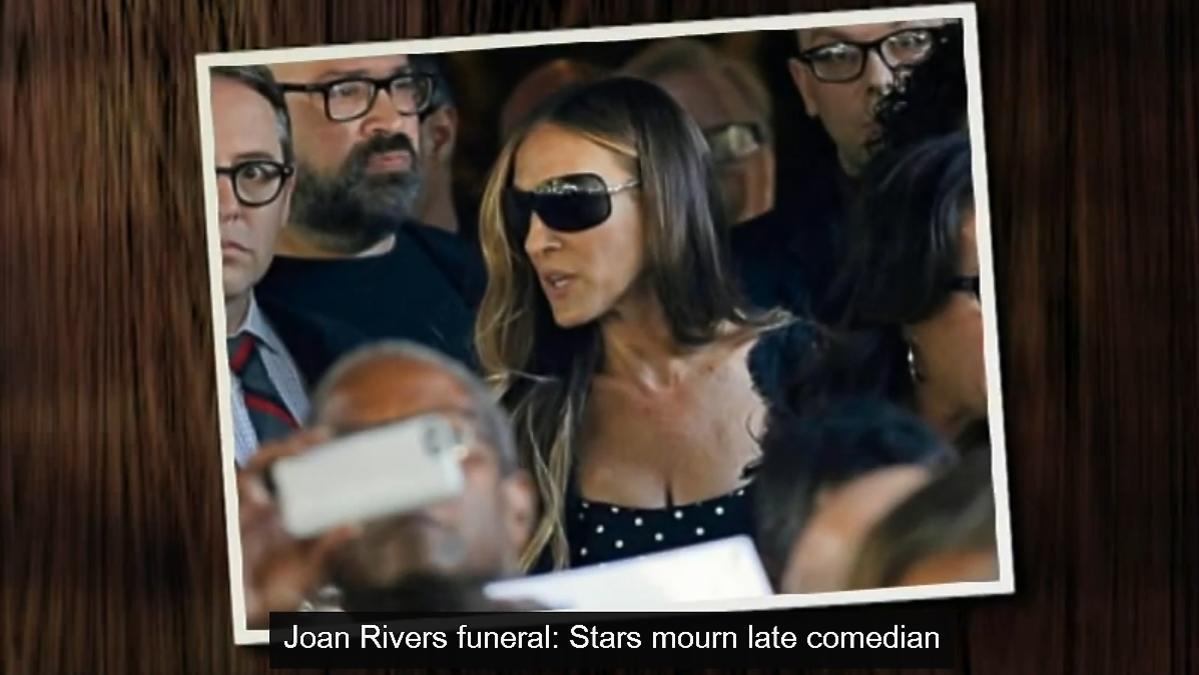 Pogrzeb Joan Rivers. Gwiazdy na pogrzebie Joan Rivers