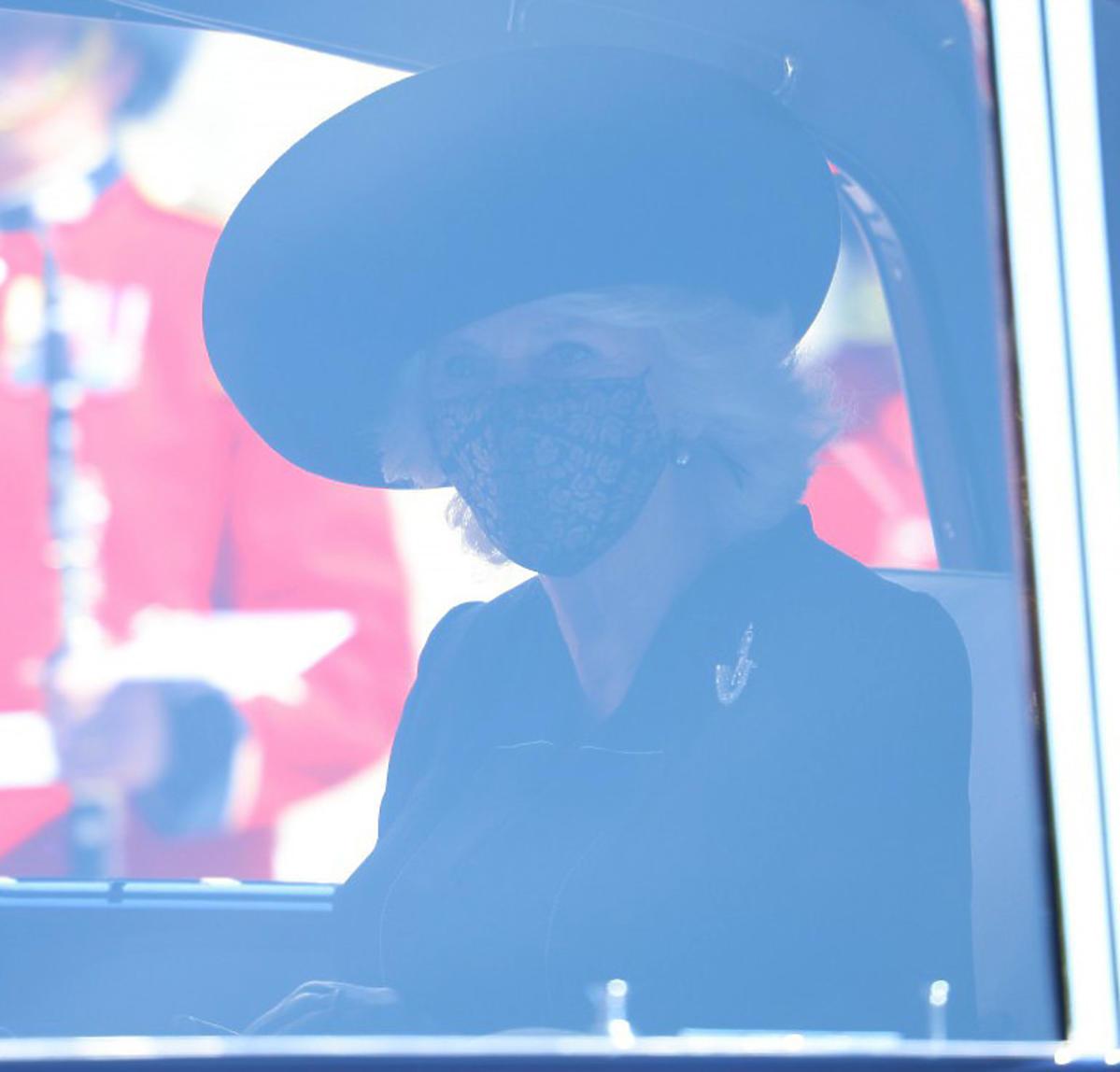 Pogrzeb księcia Filipa, księżna Kamila