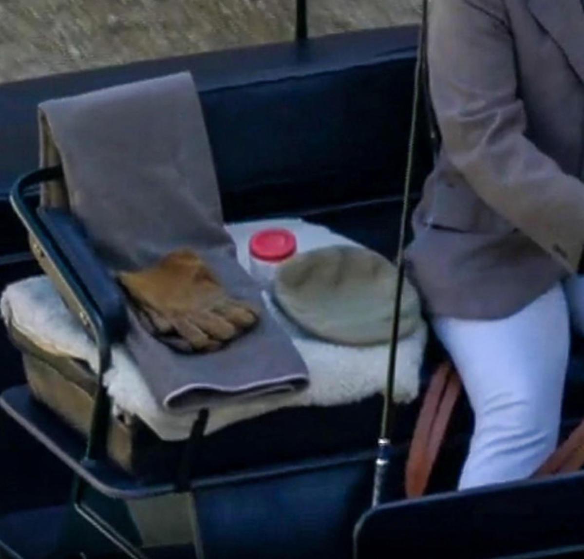 Pogrzeb księcia Filipa, powóz konny i rzeczy po zmarłym
