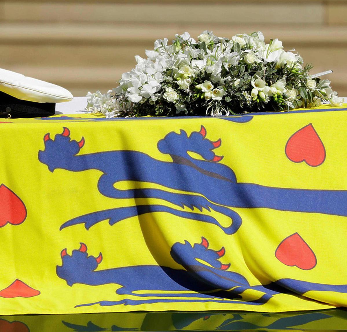 Pogrzeb księcia Filipa - trumna księcia Filipa