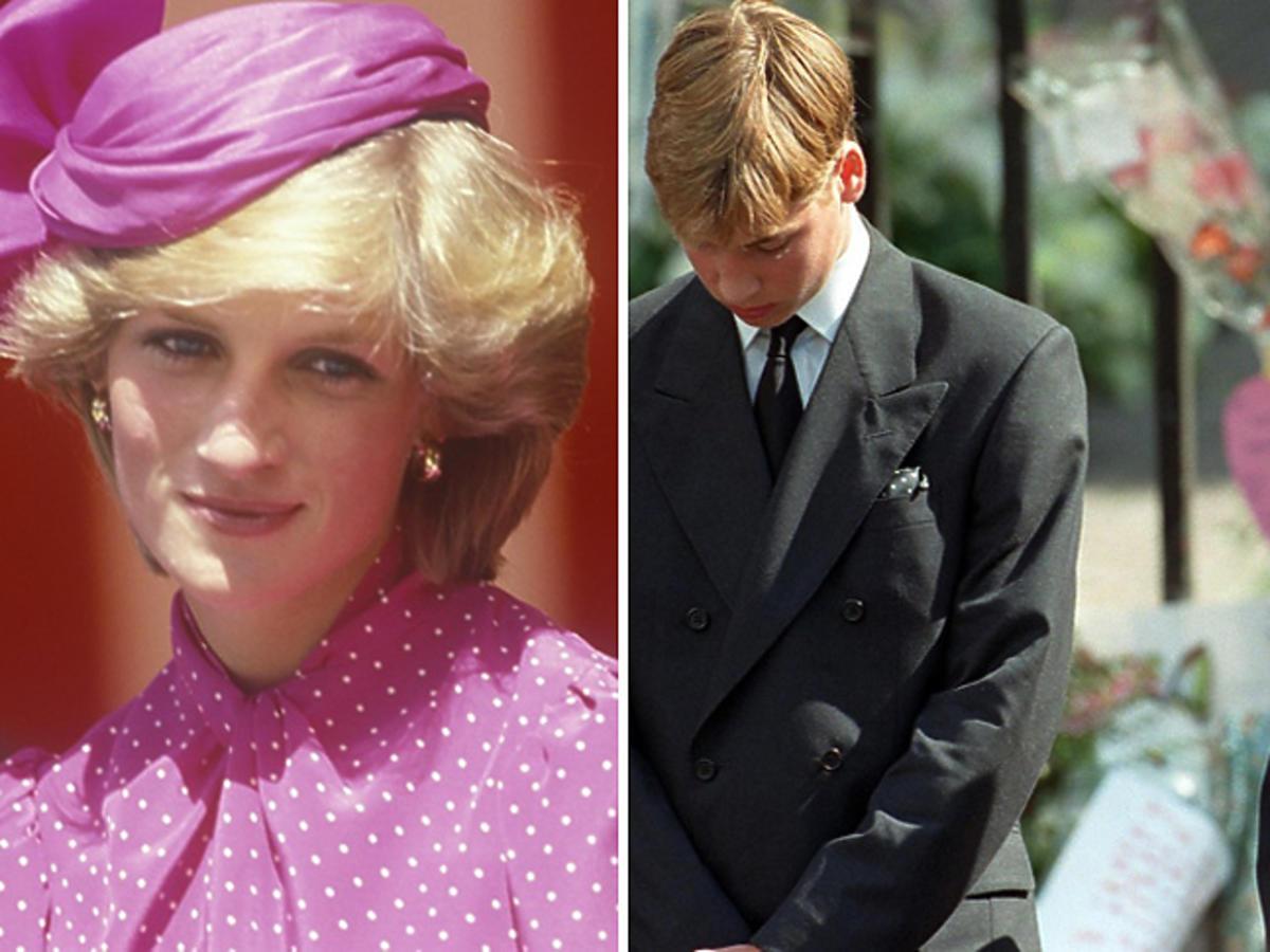 Pogrzeb księżnej Diany - William i Harry