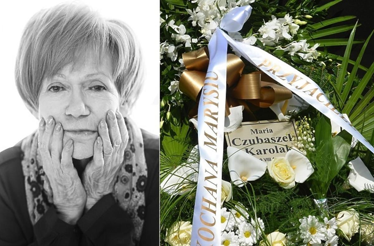 Pogrzeb Marii Czubaszek