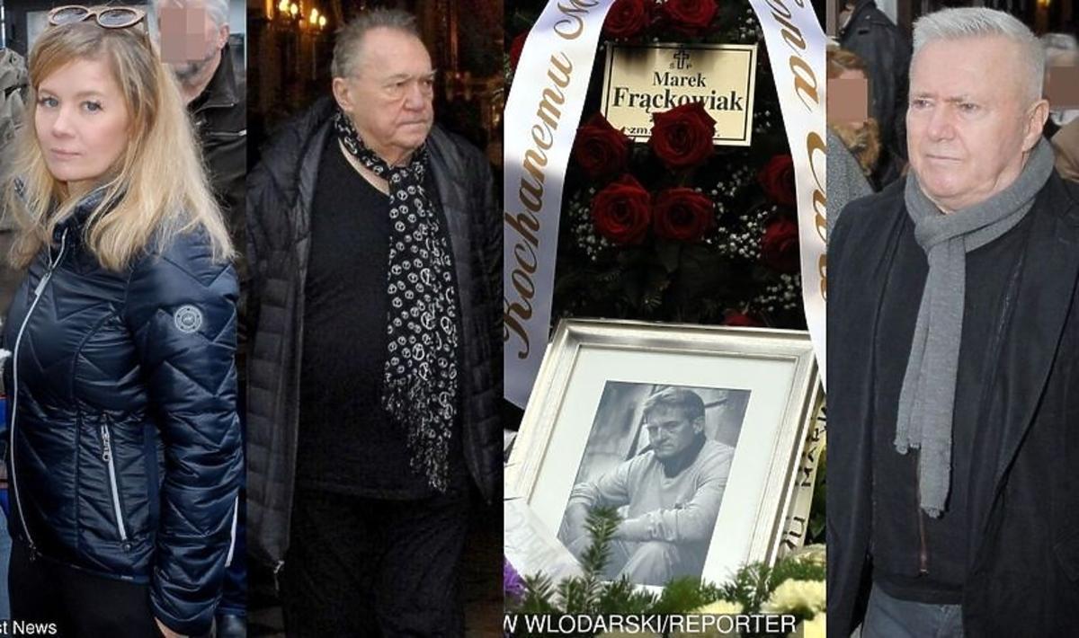 Pogrzeb Marka Frąckowiaka
