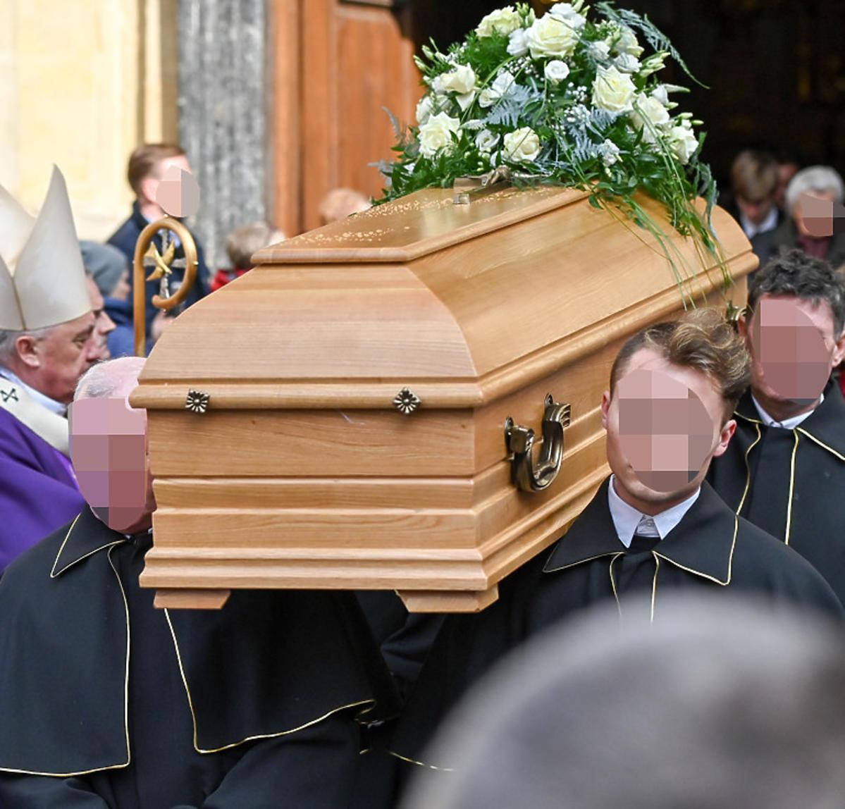 Pogrzeb Pawła Królikowskiego